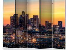 Paraván - Californian Evening II [Room Dividers]